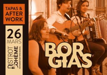 Concert au Bistrot Bohème, jeudi 26 mars 2020 à 20h30