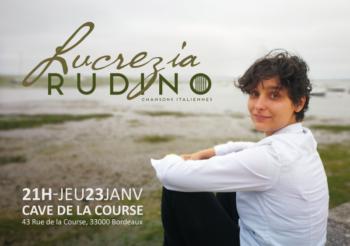 Lucrezia Rudino – Chansons italiennes – Jeudi 23 janvier à 21h