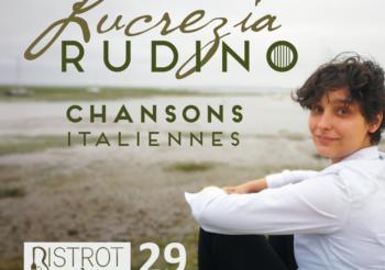 Lucrezia Rudino, chansons italiennes – samedi 29 février au Bistrot Bohème
