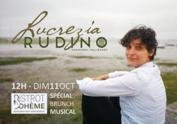Lucrezia Rudino – Concert au Bistrot Bohème, brunch musical / 11 octobre 2020 à 12h
